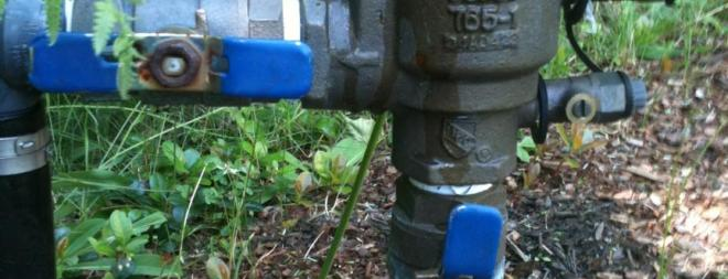 Unnecessary backflow preventer