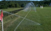 Poor sprinkler location